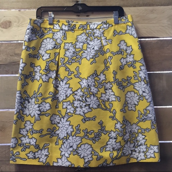 Badgley Mischka Dresses & Skirts - NWT Badgley Mischka Yellow and White Flower Skirt